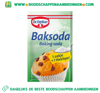 Dr. Oetker Baksoda aanbieding