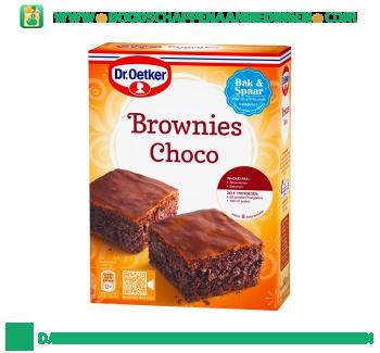 Dr. Oetker Brownies choco aanbieding