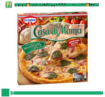 Dr. Oetker Casa di mama pizza mozarella pesto aanbieding