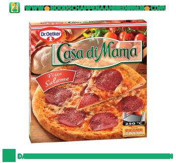 Dr. Oetker Casa di mama pizza salame aanbieding