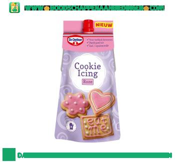 Dr. Oetker Cookie icing roze aanbieding