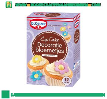 Cupcake decoratie bloemetjes aanbieding