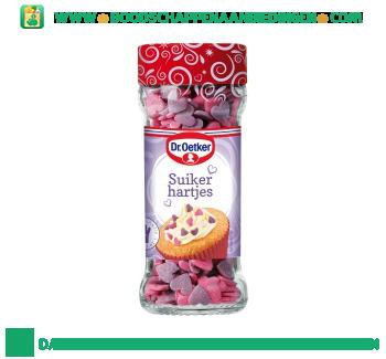 Dr. Oetker Cupcake suikerhartjes aanbieding