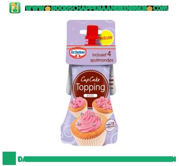 Dr. Oetker Cupcake topping roze aanbieding
