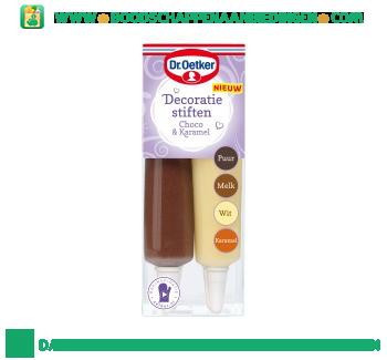Dr. Oetker Decoratiestiften choco & caramel aanbieding
