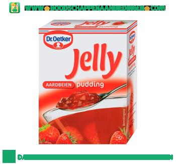 Jelly aardbeien pudding aanbieding
