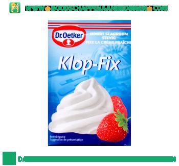 Dr. Oetker Klop-fix aanbieding