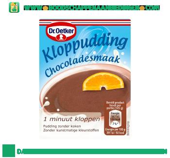 Dr. Oetker Kloppudding chocolade aanbieding