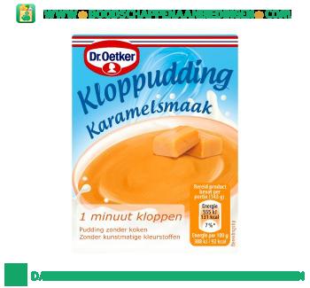 Dr. Oetker Kloppudding karamel aanbieding