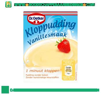 Dr. Oetker Kloppudding vanille aanbieding