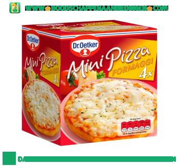 Dr. Oetker Mini pizza formaggi aanbieding