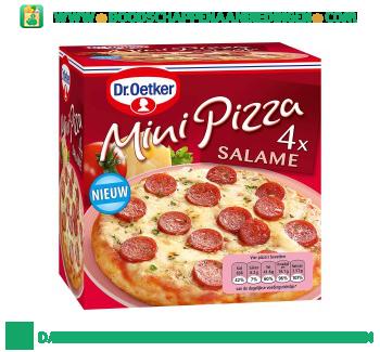 Dr. Oetker Mini pizza salame aanbieding