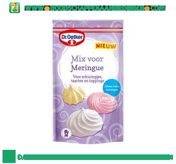 Mix voor meringue aanbieding