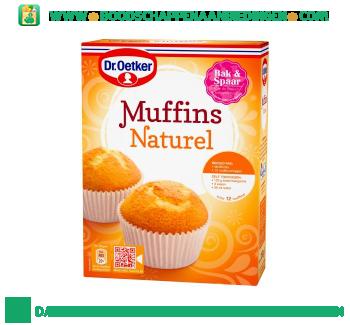 Dr. Oetker Muffins naturel aanbieding