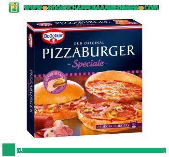 Dr. Oetker Pizzaburger speciale aanbieding