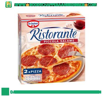 Dr. Oetker Ristorante piccola salame aanbieding