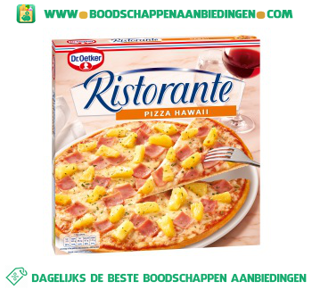 Dr. Oetker Ristorante pizza hawaii aanbieding
