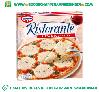 Dr. Oetker Ristorante pizza mozzarella aanbieding