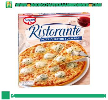 Dr. Oetker Ristorante pizza quatro formaggi aanbieding