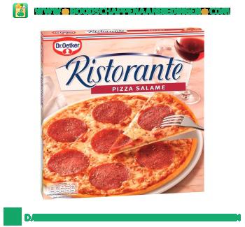 Dr. Oetker Ristorante pizza salame aanbieding