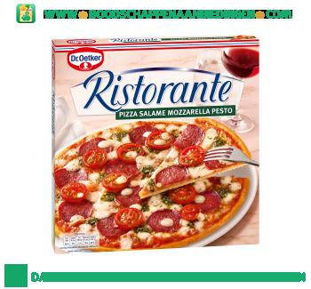 Dr. Oetker Ristorante salame mozarella pesto aanbieding