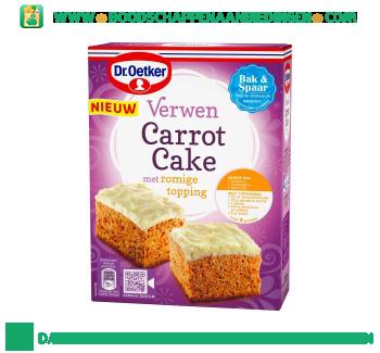 Dr. Oetker Verwen carrot cake aanbieding