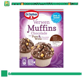 Dr. Oetker Verwen muffins chocolade aanbieding