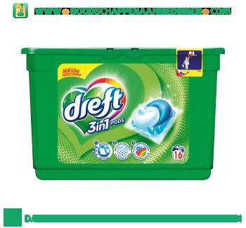Dreft 3in1 Pods wascapsules 16 wasbeurten aanbieding