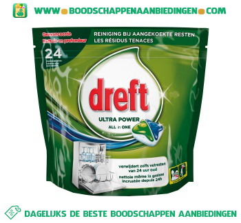 Dreft All in one original vaatwastabletten aanbieding