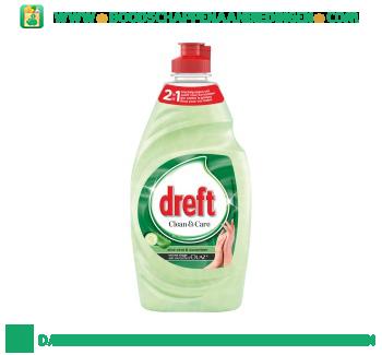 Dreft Clean & care aloe vera & cucumber afwasmiddel aanbieding