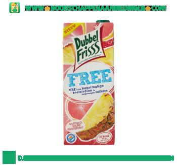 Dubbelfrisss Free ananas & milde grapefruit aanbieding