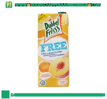 Dubbelfrisss Free perzik & mandarijn aanbieding