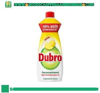 Dubro Afwasmiddel extra citroen aanbieding