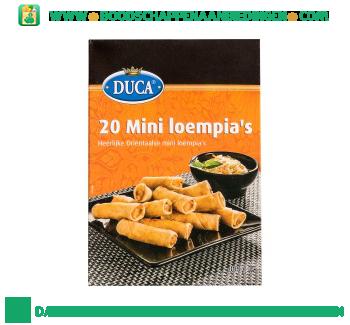Duca Mini loempia's aanbieding