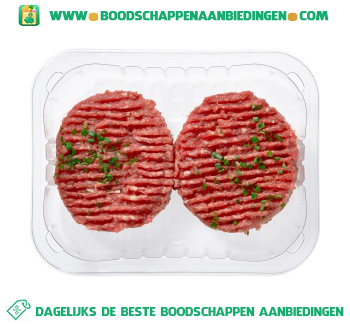 Duitse biefstuk 2 stuks aanbieding