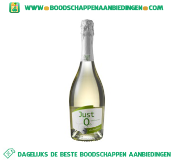 Just 0 sparkling alcoholfree aanbieding