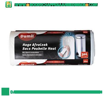 Dumil Hoge afvalzak à 30 liter aanbieding