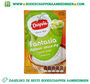 Duyvis Fantasia dipsaus aanbieding