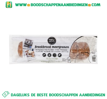Easy Bakery Breekbrood meergranen aanbieding