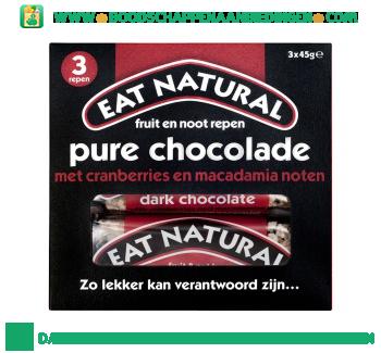 Eat Natural Chocolade cranberrie macadamia aanbieding