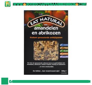 Eat Natural Ontbijtgranen met amandelen en abrikozen aanbieding