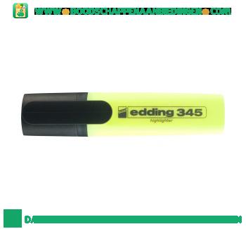 Edding Fluor marker geel aanbieding