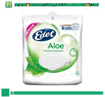 Edet Vochtig toiletpapier aloe vera pouch aanbieding