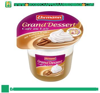 Ehrmann Grand dessert café au lait aanbieding