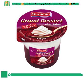 Ehrmann Grand dessert chocolade aanbieding