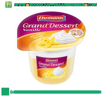 Ehrmann Grand dessert vanille aanbieding