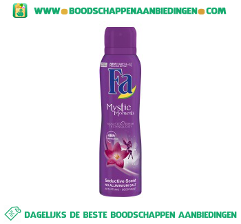 Fa Deospray mystic moments aanbieding