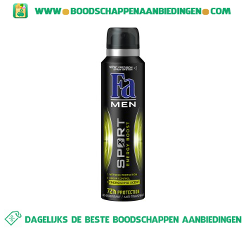 Fa Deospray sport power for men aanbieding
