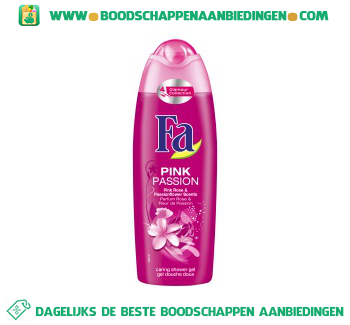 Fa Pink passion pink rose & passionflower shower cream aanbieding