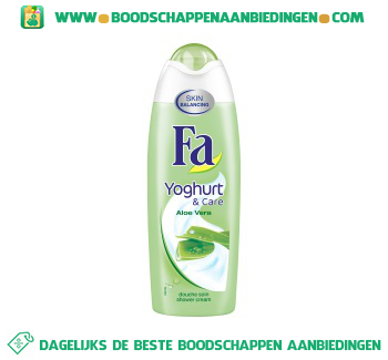 Fa Shower cream aloe vera aanbieding
